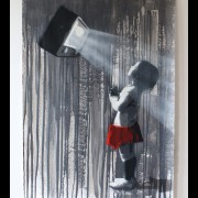 kurar-And the light is 7-8 original all hand made stencil on paper 300G 100x70