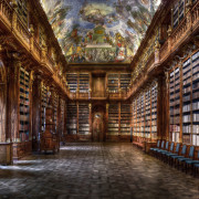 christian-voigt---Philosophical-Hall---Strahov-Monastery-H-157-cm--x-B-224-cm-Edition-12-BLACK-DISTANCE-FRAME,-TULIPWOOD